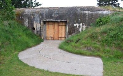 Hærkystbatteri i Vester Vedsted Bunkers